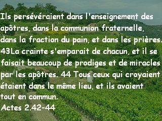 Actes 2.42-44