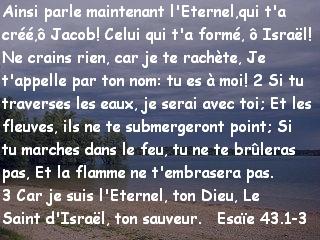 Esaïe 43.1-3