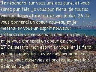 Ezéchiel 36.25-27