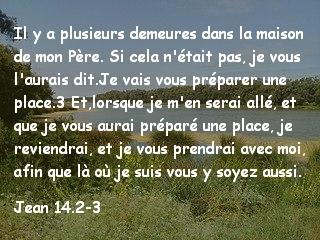 Jean 14.2-3