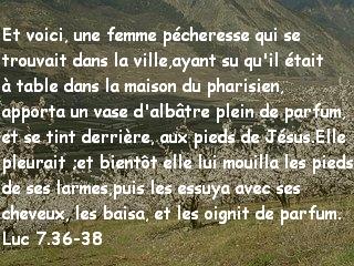 Luc 7.36-38
