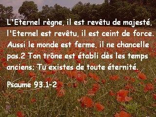 Psaume 93.1-2
