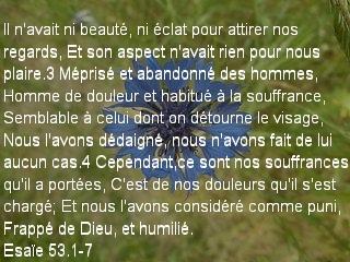 Esaïe 53.1-7