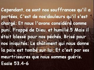 Esaïe 53.4-6