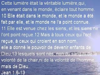 Jean 1.6-13
