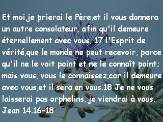 Jean 14.16-18