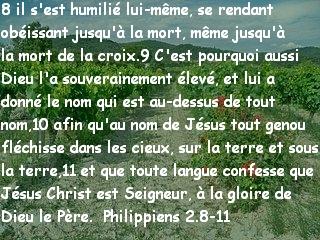 Philippiens 2.8-11