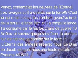 Psaume 46.8-11