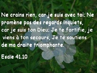Esaie 41.10