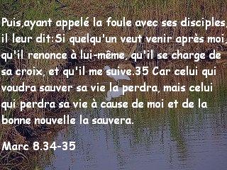 Marc 8.34-35