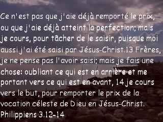 Philippiens 3.12-14