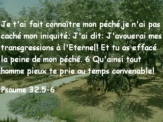 Psaume 32.5-6