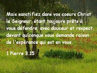 1 Pierre 3.15