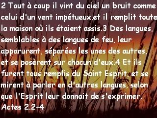 Actes 2.2-4