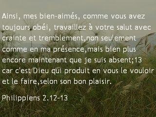 Philippiens 2.12-13
