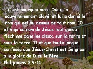 Philippiens 2.9-11
