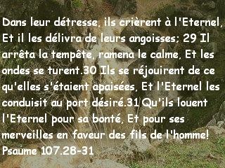 Psaume 107.28-31