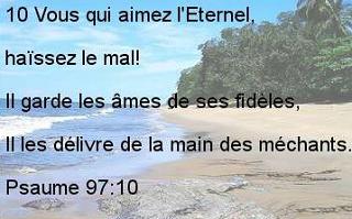 Psaume 97.10