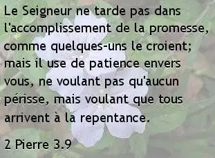 2 Pierre 3.9.