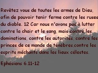 Ephésiens 6.11-12