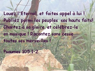 psaumes 105.2