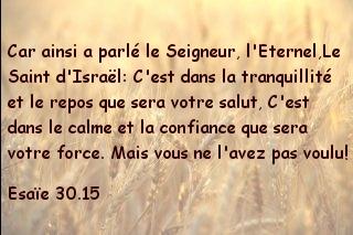 Esaïe 30.15