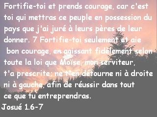 Josué 1.6-7