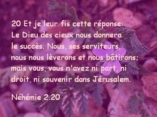 Néhémie 2.20